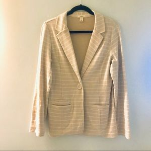 Caslon 100% cotton blazer